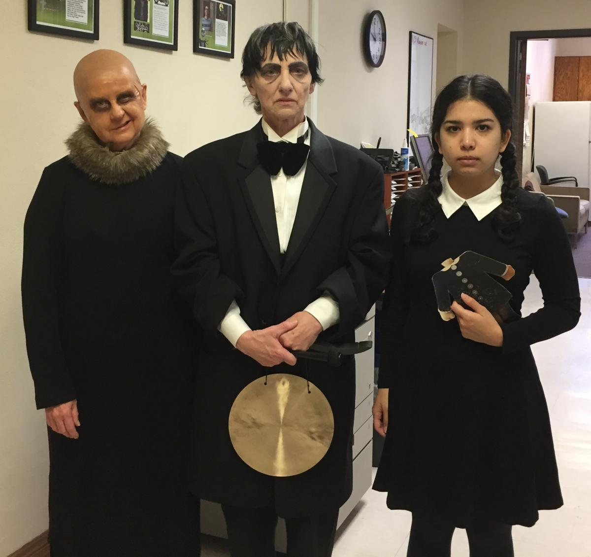 Fester and Lurch Costumes